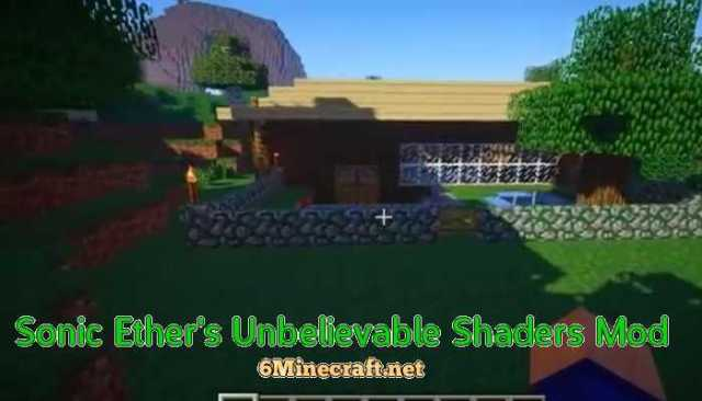 Sonic Ether's Unbelievable Shaders Mod 1.9.4