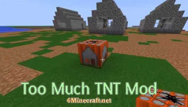 Too Much TNT Mod 1.9.4