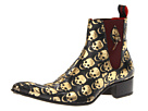 Jeffery-West - Rochester Rex (Gold Skulls) - Footwear