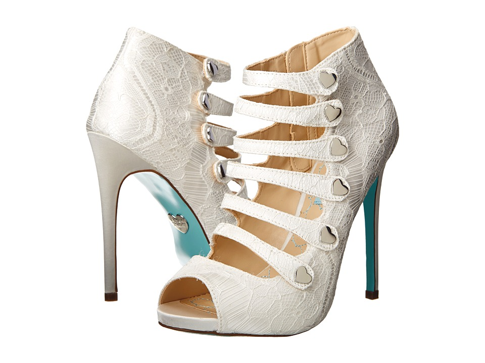 Blue By Betsey Johnson Heart Womenu0027s Bridal Shoes