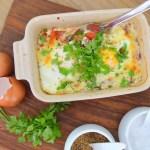 Bagte æg med tomater og mozzarella | 6pm.dk