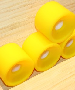 Yellow Cruiser Skateboard Wheels Wheels 78A