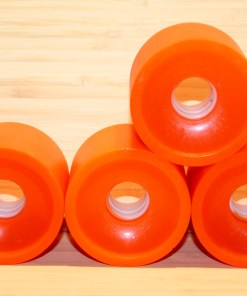 Orange Cruiser Skateboard Wheels Wheels 78A
