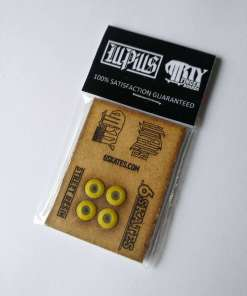 ill pills street resin lemon yellow