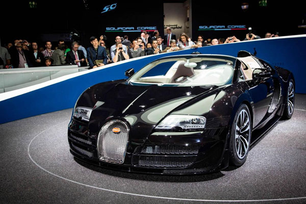 Bugatti Veyron Grand Sport Vitesse Jean Bugatti Special Edition Home