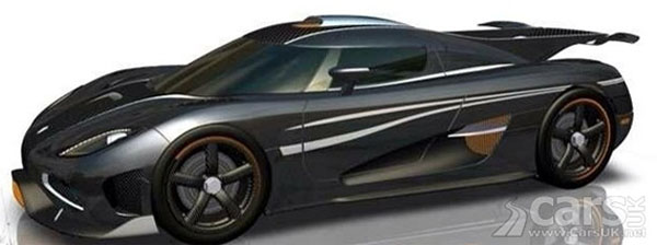 Koenigsegg One-1 Rendered