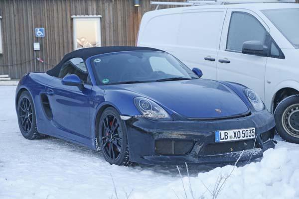 Porsche Boxster GT4 12