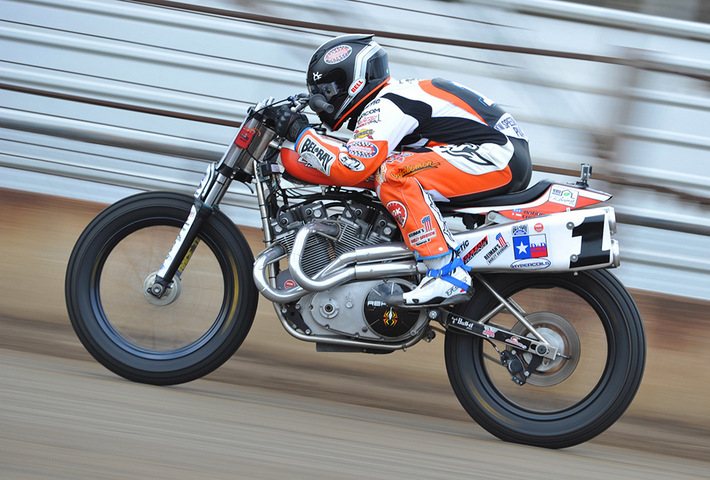 AMA Pro Flat Track racer Jared Mees