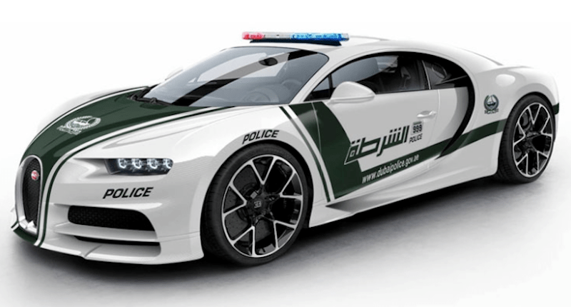 Could the Bugatti Chiron Join the Dubai Police Force? - 6SpeedOnline