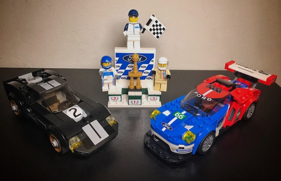 Fan Of The Iconic Ford Gt And The Class Winning Ecoboost Powered Ford Gt Legos Got Something For You