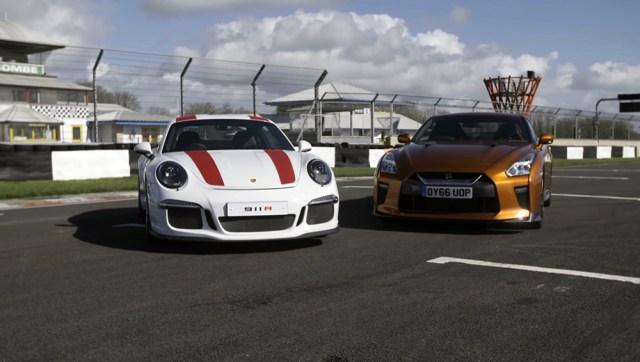 6SpeedOnline.com Porsche 911 R Nissan R35 GT-R