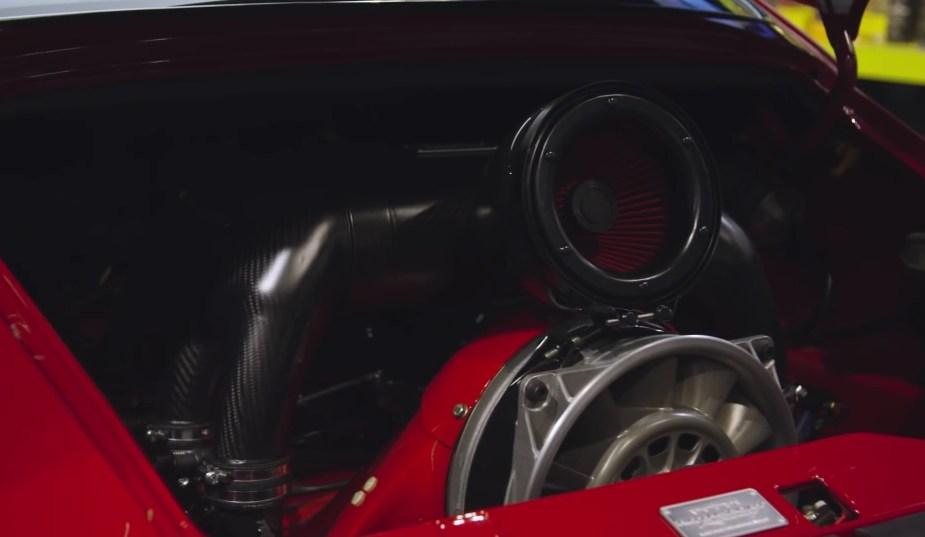 Porsche 993 Gunther Werks 400R Engine