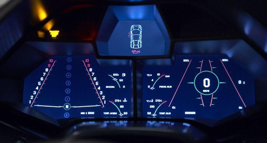 Lamborghini Reventon Interior 6speedonline