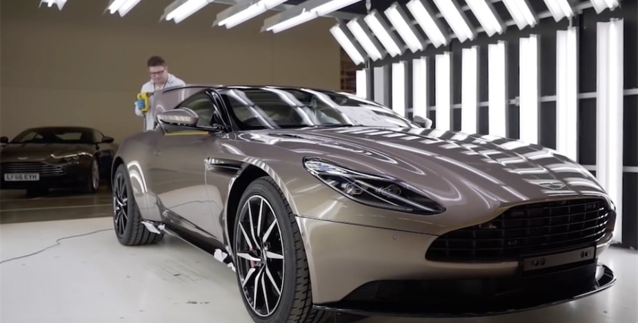 Aston Martin DB11 production and assembly.