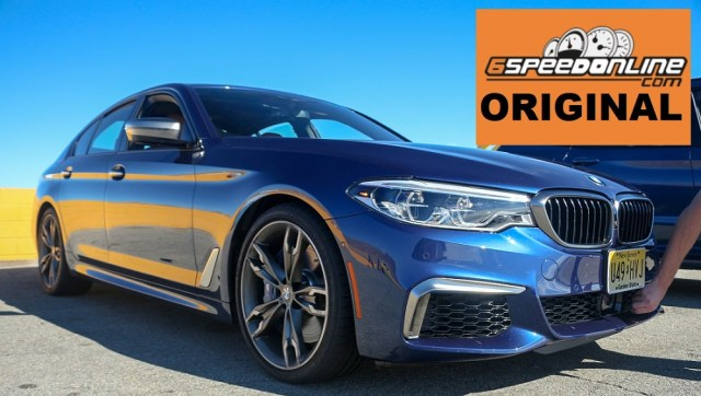 6SpeedOnline.com 2018 BMW M550i xDrive Track Test First Drive Review Baby M5