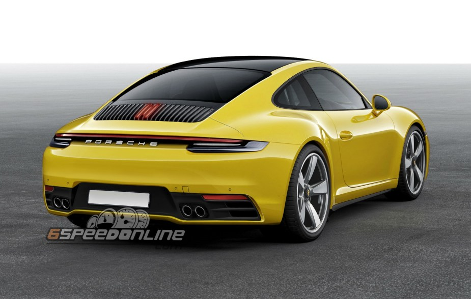 2020 porsche 992 911 carrera this is it 6speedonline. Black Bedroom Furniture Sets. Home Design Ideas