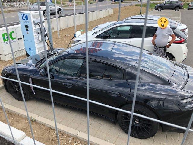 Porsche Taycan Spotted 6SpeedOnline.com