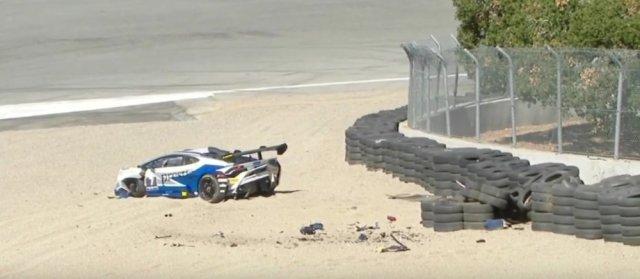 Monk Lamborghini at Rest