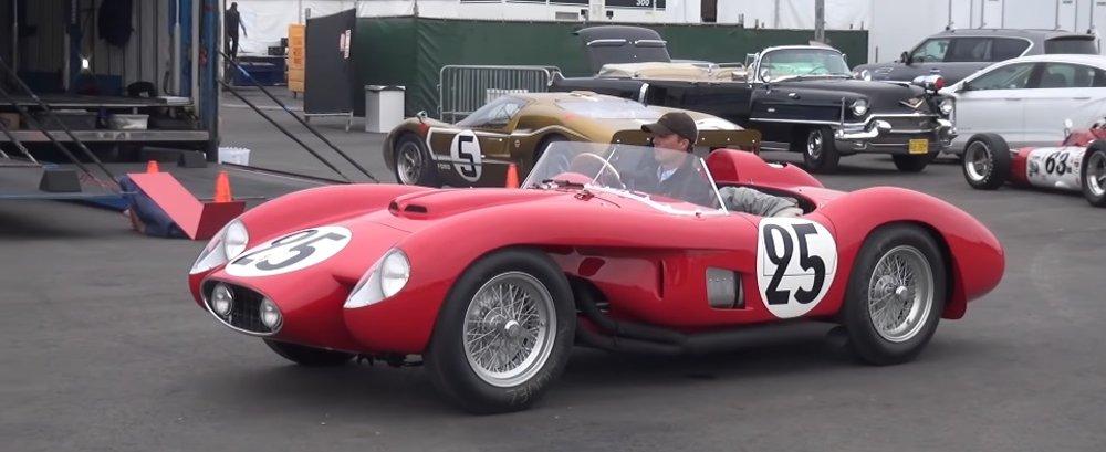 Classic Ferrari Race Car