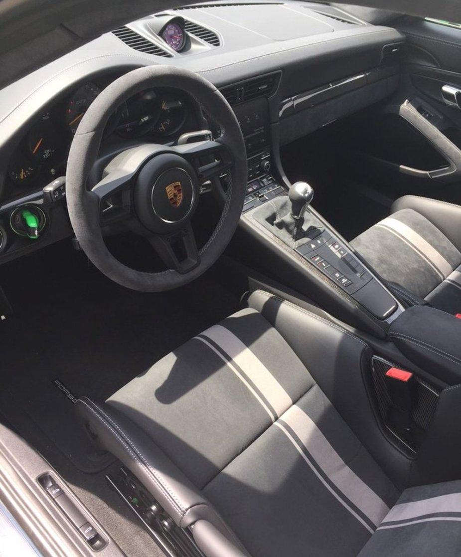 2018 Porsche 911 GT3 Interior
