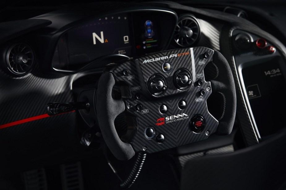 McLaren P1 GTR McLaren Special Operations MSO Aryton Senna Formula One F1 World Championship