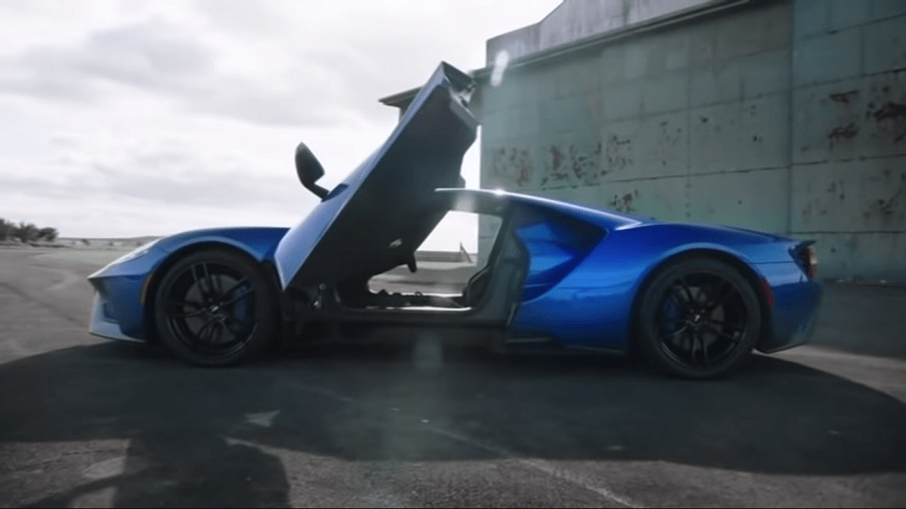 Speedonline Com Jeremy Clarkson Tests The Ford Gt