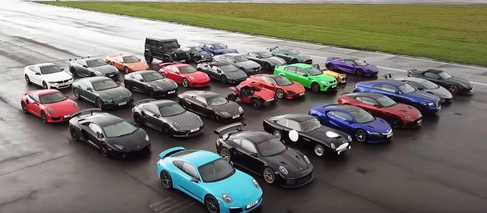 Supercar Drag Race Crowd