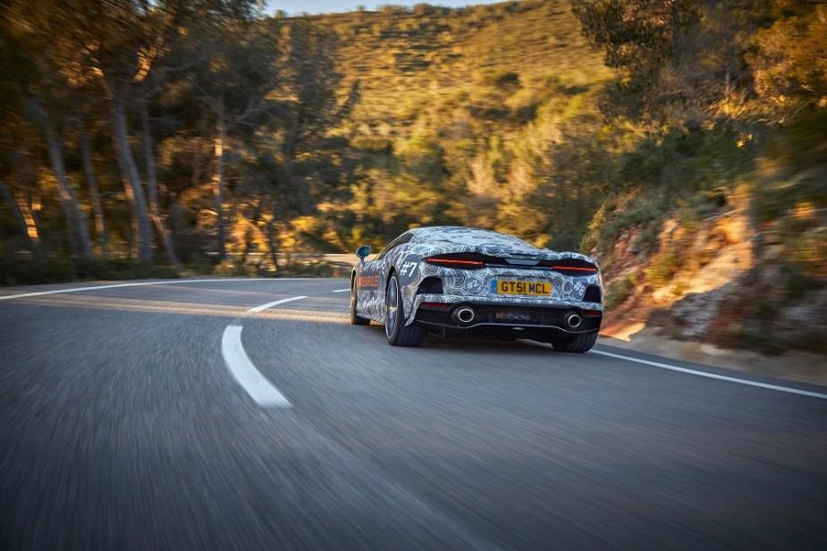 McLaren Grand Tourer Model Teased
