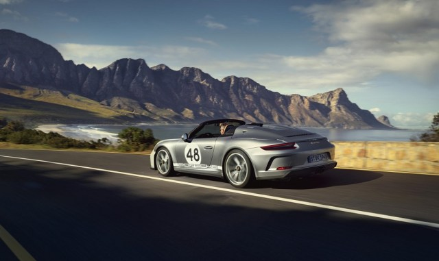 Porsche 911 Speedster Heritage Design Package