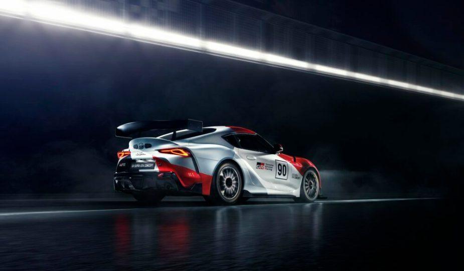 Toyota GR Supra GT4 Debut