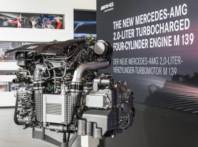 Mercedes-AMG M139 engine