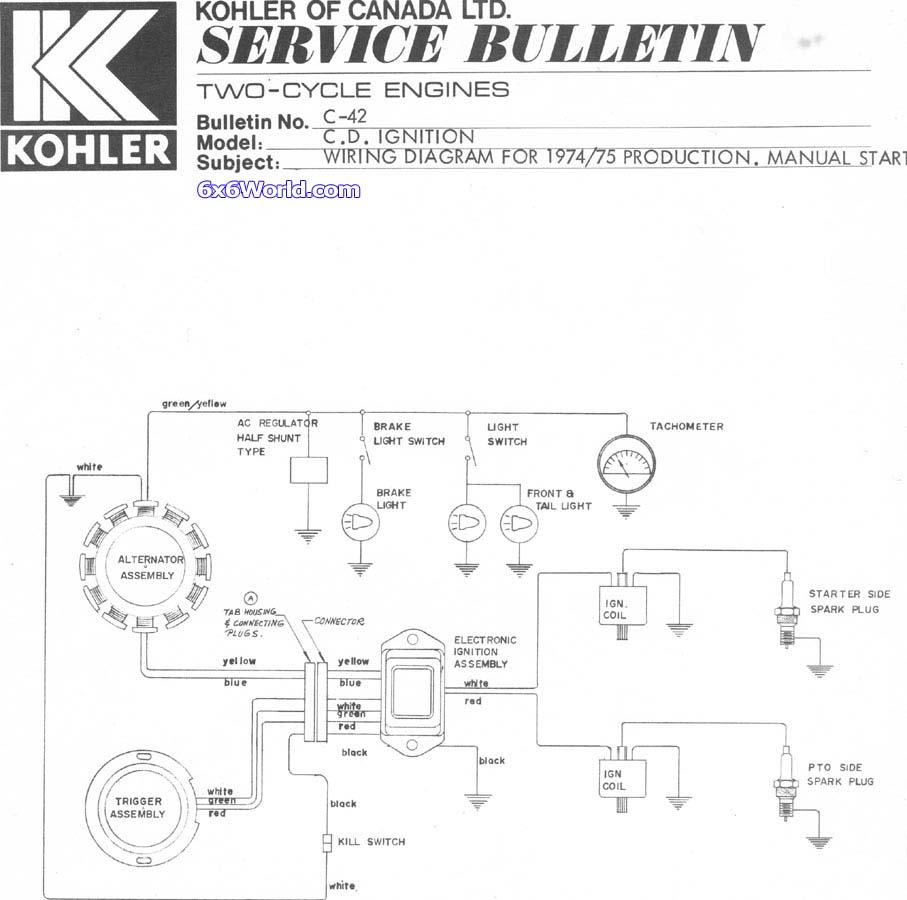 Kohler Cv15s Wiring Diagram kohler command kohler engine ... on