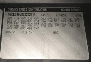 M70 4L70E Identification