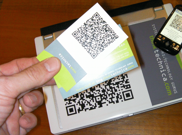22 Great Examples Of QR Code Business Cards And Business