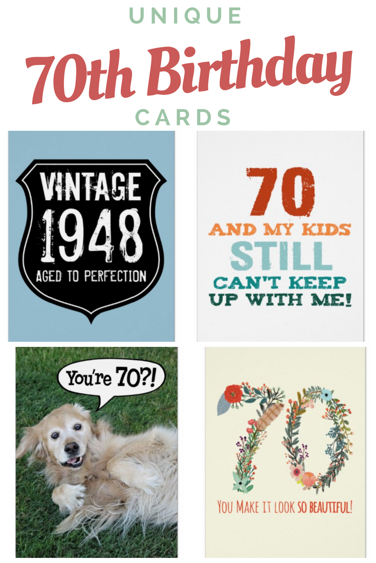 70th Birthday Cards Find The Perfect 70th Birthday Card