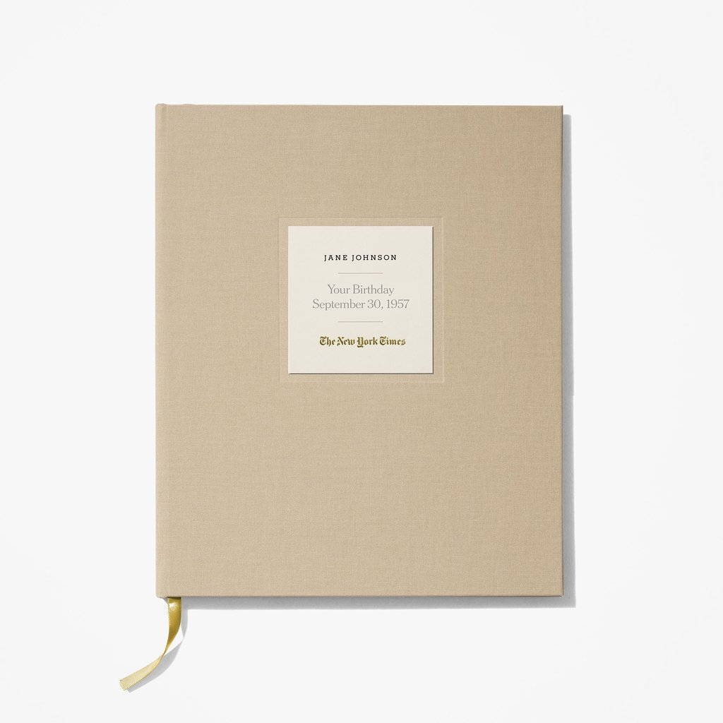 New York Times Ultimate Birthday Book