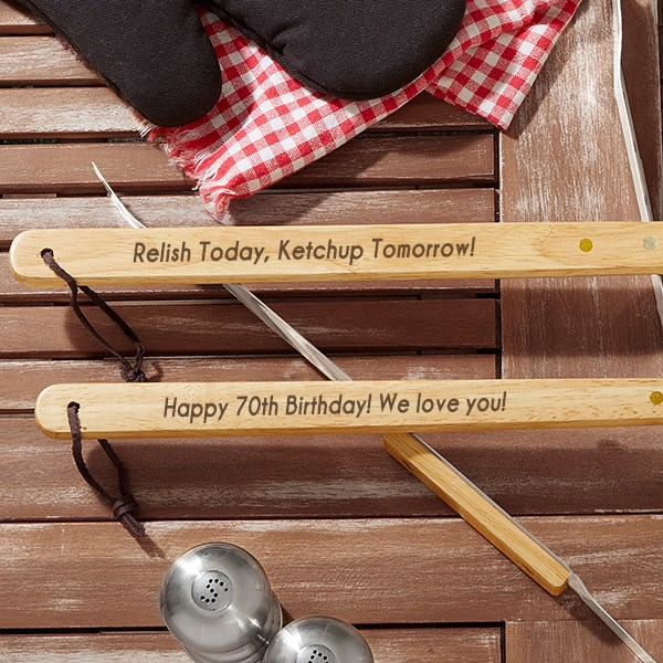 Personalized BBQ Utensil Set