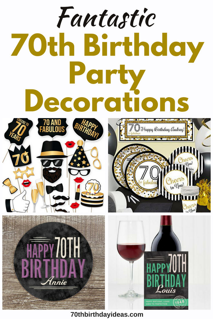 Brilliant 70Th Birthday Party Decorations 70Th Birthday Ideas Download Free Architecture Designs Rallybritishbridgeorg