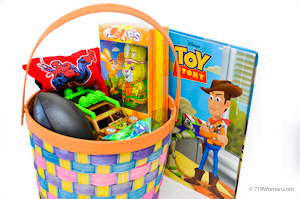 Inexpensive easter basket ideas from the thrift stores heres another basket negle Images