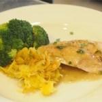Tarragon-Stuffed Chicken, Brandy Gravy, Spaghetti Squash and Broccoli – $10 or Less Meal