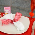 Fun (And Cheap) Valentine Table Setting Ideas