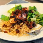 Prosciutto-Wrapped Chicken With Glazed Date Sauce…Company Good For Less Than $3 Per Person