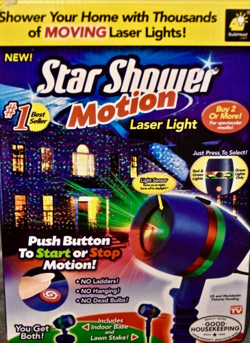 Star Shower Motion Laser Light - As Seen On TV...Does It Work? - 719woman.com