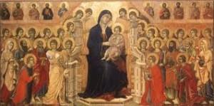 madonna e santi