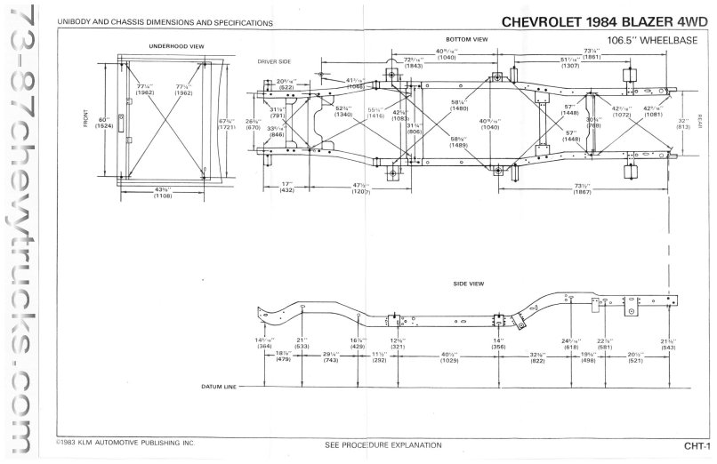 chassis dimensions