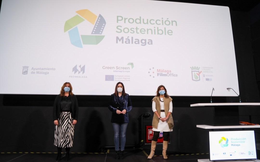 Málaga crea un sello para avalar las producciones audiovisuales sostenibles