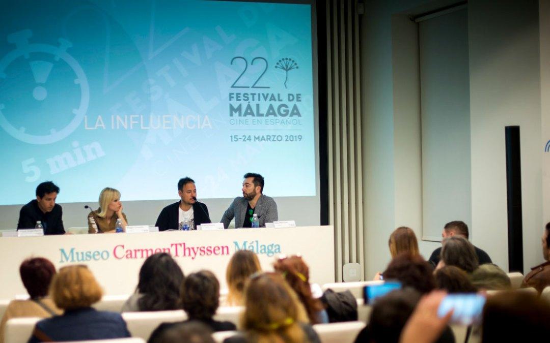 Denis Rovira presenta 'La influencia', su ópera prima en largometraje en el Festival de Málaga