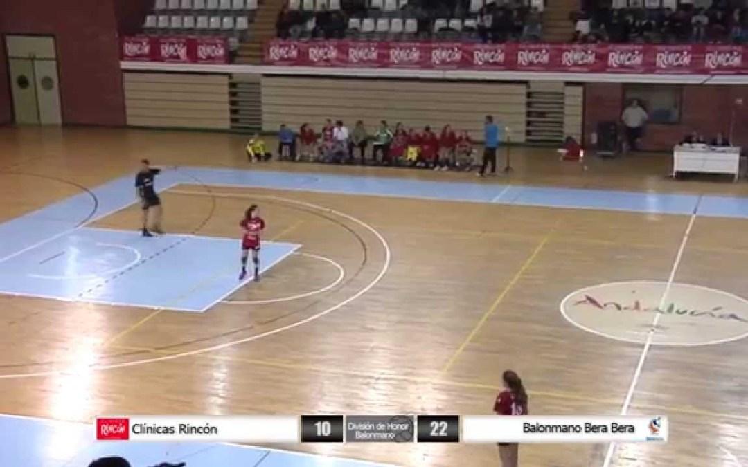 División de Honor Balonmano Femenino Clínicas Rincón – Bera Bera
