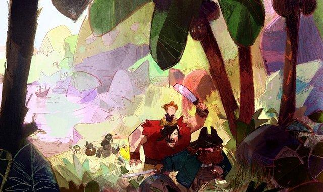 En proyecto la película de animación «El tesoro de barracuda», de Adría García