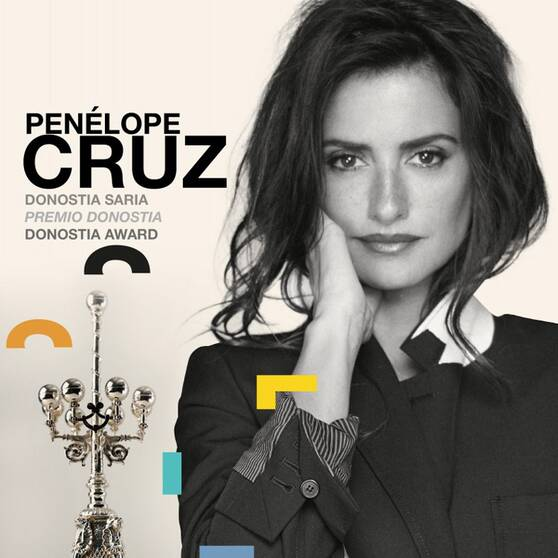 Penélope Cruz recibirá un Premio Donostia en la próxima edición del Festival de San Sebastián